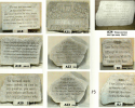 Commemorate our Savior with meaningful stones featuring bible verses and religious quotes.